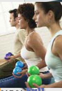 Pilates moderno con pelota